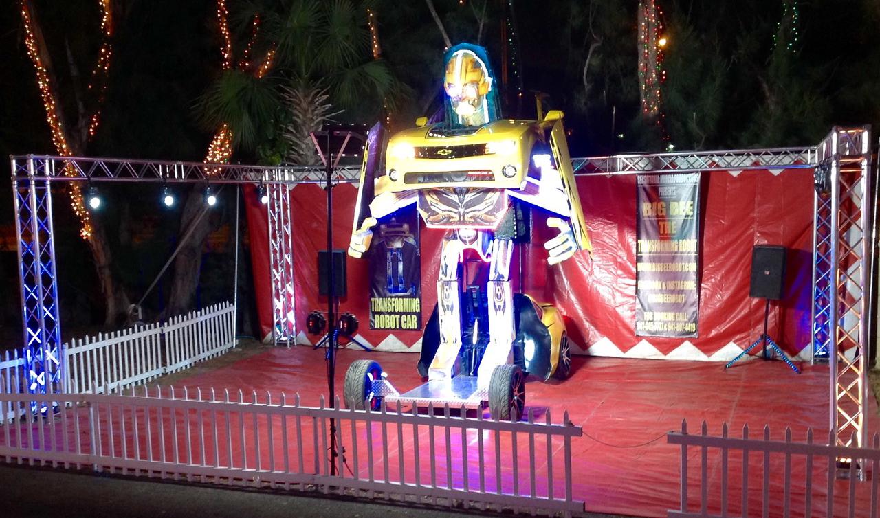 Big Bee Transforming Robot Car